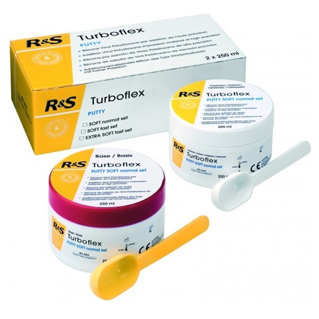 R&S Turboflex Putty Soft Fast Set (250ml base + 250ml catalyst)
