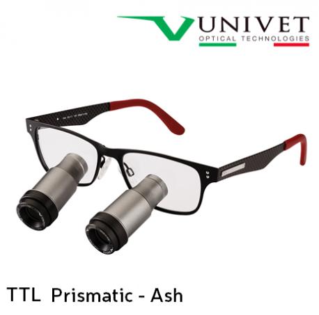 Univet TTL Prismatic  Ash Surgical Loupes