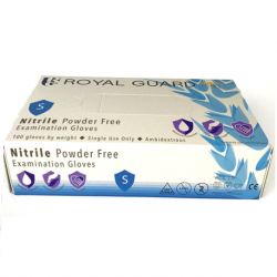 Royal Guard Nitrile Examination Gloves, Powder Free