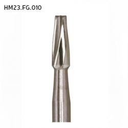Meisinger Carbide Bur FG Straight fissure, HM23.FG.010 (5pcs/pack)