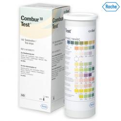 Roche Combur 10 Urine Test Strips, 100s/bottle