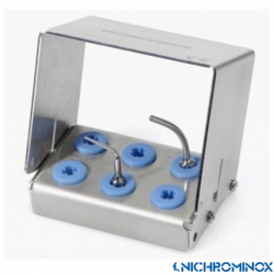 Nichrominox Multi Clip holder with 6-holes
