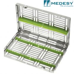 Medesy Tray Gammafix  Cassette Quatri Red #981/19-RO