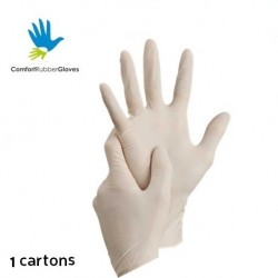 Comfort Latex Examination Gloves Powder-Free (1 Carton)
