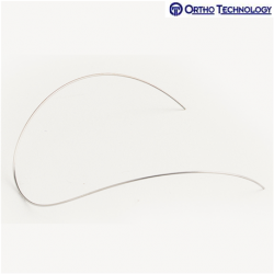 Ortho Technology TruFlex Nickel Titanium Reverse Curve Of Spee Rectangle Etched
