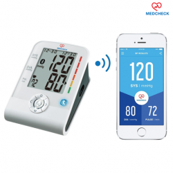 MedCheck Upper Arm Blood Pressure Monitor with Bluetooth