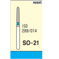 MANI Diamond Bur Straight SO-21 (5pcs/pack)