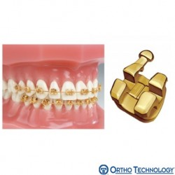 Marquis TruGold 24K Gold Plated Bracket System(10 brackets/pack)