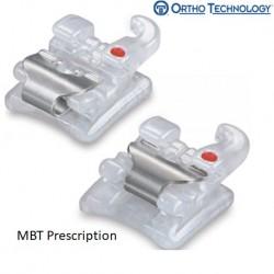 Sensation Active Ceramic Self-Ligating Bracket System,MBT(10 brackets/pack)