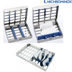 Nichrominox Cassette/Tray for Dental Photography Mirrors