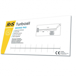R&S Turbosil mixing pads (25 sheets/Book)
