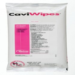 CaviWipes,Disinfectant Wipes, Flat Packs, 7'' x 9'' (Pack of 45)