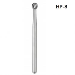 SS White Carbide Bur Round HP Size 023 x 10 pcs (#14844)