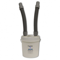 Buffalo Trap-Eze Disposable Plaster Trap - Complete Set (5 gallon)