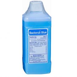 Bactorub Blue Alcohol Hand Rub & Skin Antiseptic, 500ml