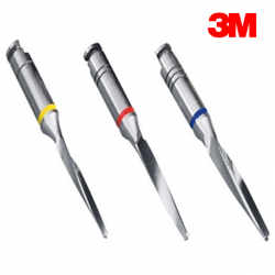 3M RelyX Fiber Post Drill, Yellow Size 1 (1 Drill/Pack)