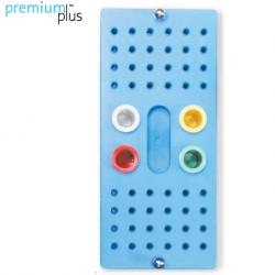 Premium Plus Autoclavable Endo Stand 48 Holes and 4  endo Vials