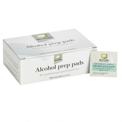 Alcohol Prep Pads Medium, 200pc/box