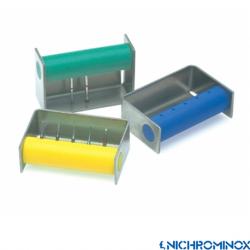 Nichrominox Colour Bur Dispenser/bur Holder 5-holes for High speed Burs