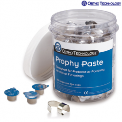 Ortho Technology Prophy Paste 200-2gm Cups #15486