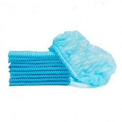 Bouffant Cap, Fluid Resistant, Blue (100 pieces/pack)