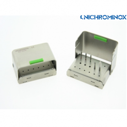 Nichrominox 17 holes Bur Clip Plus holder for High speed and low-speed burs