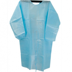 Disposable Isolation Gowns Tie-on, 40gsm (Blue) (100pcs/ctn)