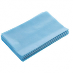 Bedsheet cover, size 120x220cm, blue  (5pcs/pack)