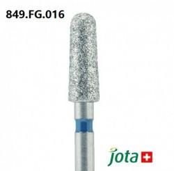 Tapered Round Diamond Bur, FG, 5pcs/pack (849.FG.016)