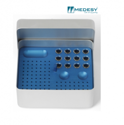 Medesy Endodontic Box Aluminium Medium #990