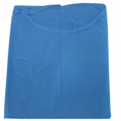 Assure Lab Coat Blue 30gsm Knitted Cuff  10pcs/bag ,10bag/ctn