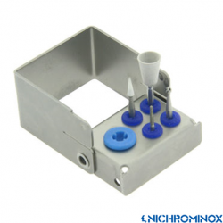 Nichrominox Multi Plug'in Bur holder for 4 burs and 1 Scaling tip