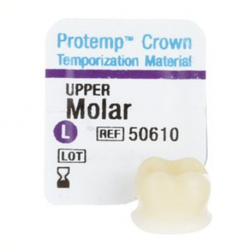 3M Protemp™ Crown Temporization Material Upper Molar (5pcs/Kit)