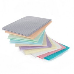 SafeBasics™ Dry-Back® 2-Ply Patient Bibs (500 pcs/carton)