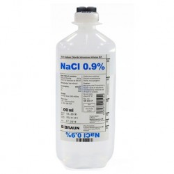 B Braun Sodium Chloride Intravenous Infusion, B. P. 0.9% 1000ml Soft Bottle