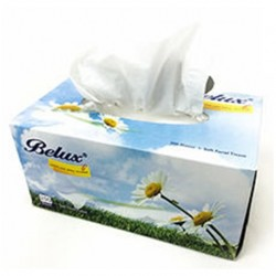 Belux Tissue Paper Box (200Sheets/box, 50boxes/carton)
