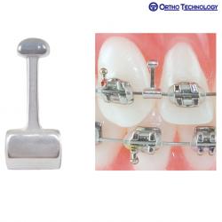 Ortho Technology Bi-Directional Hooks - Long Crimp .022x.025 (20 Per Pack) #20103