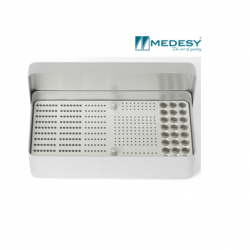 Medesy Endodontic Box Aluminium Large #985