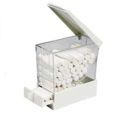 Larident Cotton Roll Dispenser White