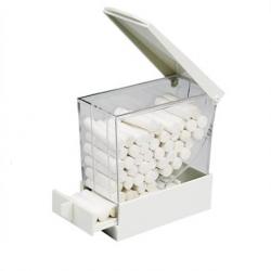 Larident Cotton Roll Dispenser - White