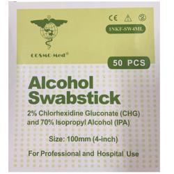 Swabstick, Cosmo, Chlorhexidine 2% (50pcs/Box)
