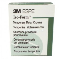 3M™ Iso-Form™ Temporary Crowns Lower Molars 5pcs/Box