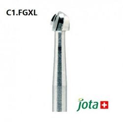 Carbide Bur, FGXL, Round, 5pcs/pack (C1.FGXL)