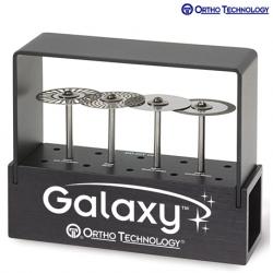 Ortho Technology Diamond Discs 22mm Intro Kit 4 Discs/Bur Block
