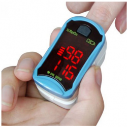 CHOICEMMED Fingertip Pulse Oximeter (LED Display), MD300C208