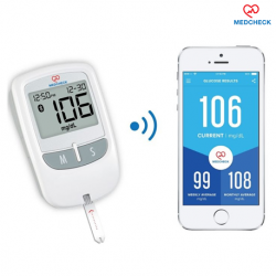 MedCheck Blood Glucose Monitor with Bluetooth