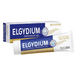 Elgydium Multi-Action Toothpaste 75ml ( X8 Packs )