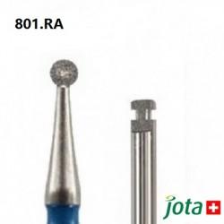 Round Diamond Bur, RA, 5pcs/pack (801.RA)