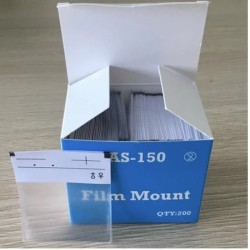 Premium Plus X-Ray Film Mount - Peel-N-Stick 200's/pack #150