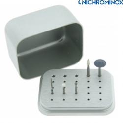 Nichrominox Aluminium Maxi Bur block holder